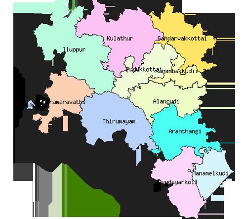 Pudukkottai District Revenue Villages